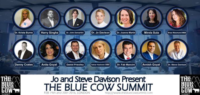 Blue Cow summit 2016 speakers - click image for website