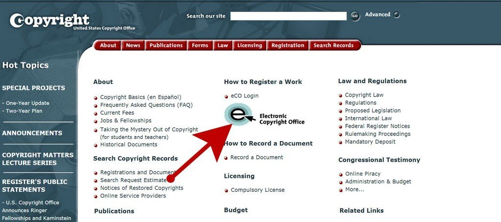 electronic copyright office