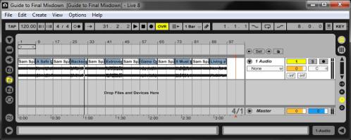 Final Mixdown: The Lineup