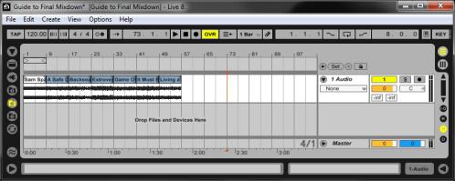 Final Mixdown: Continuous Mix