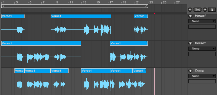 How to Comp Vocals in Ableton Live - Passive Promotion