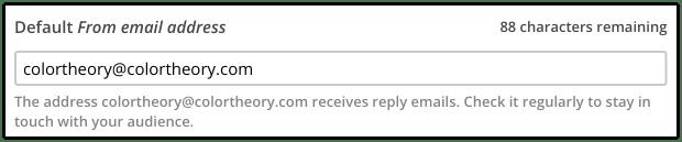 default Mailchimp