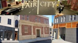 Fair City TV Set
