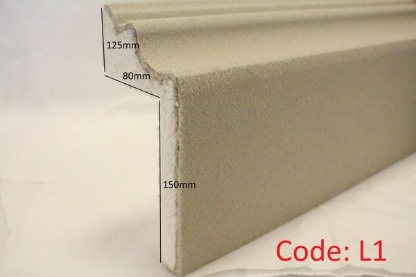 125mm M L Reveal in Sandstone