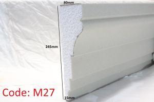 254mm x 80mm Moulding in Sandstone