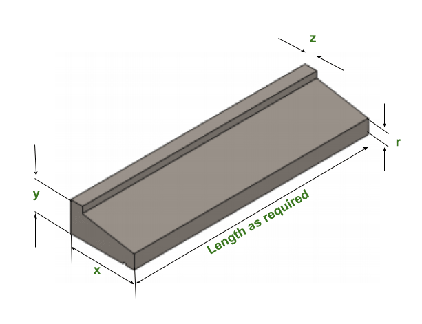 WIndow Sill Dimension guide
