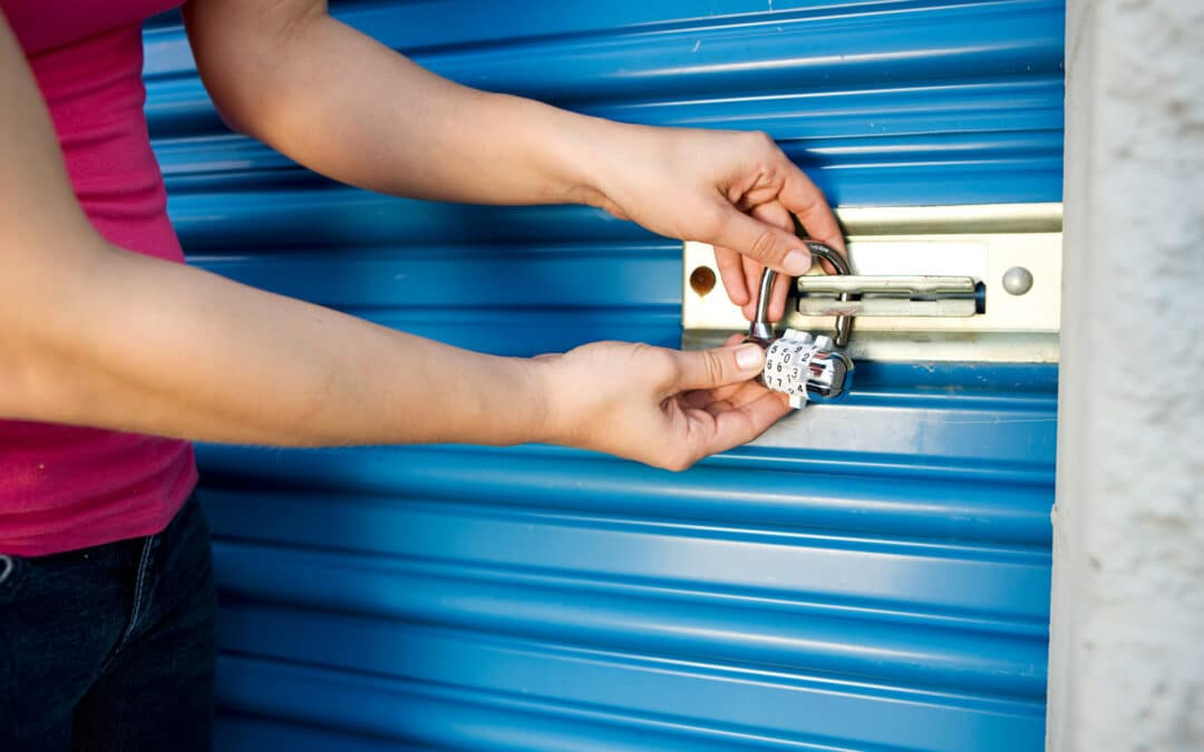 lock on storage unit