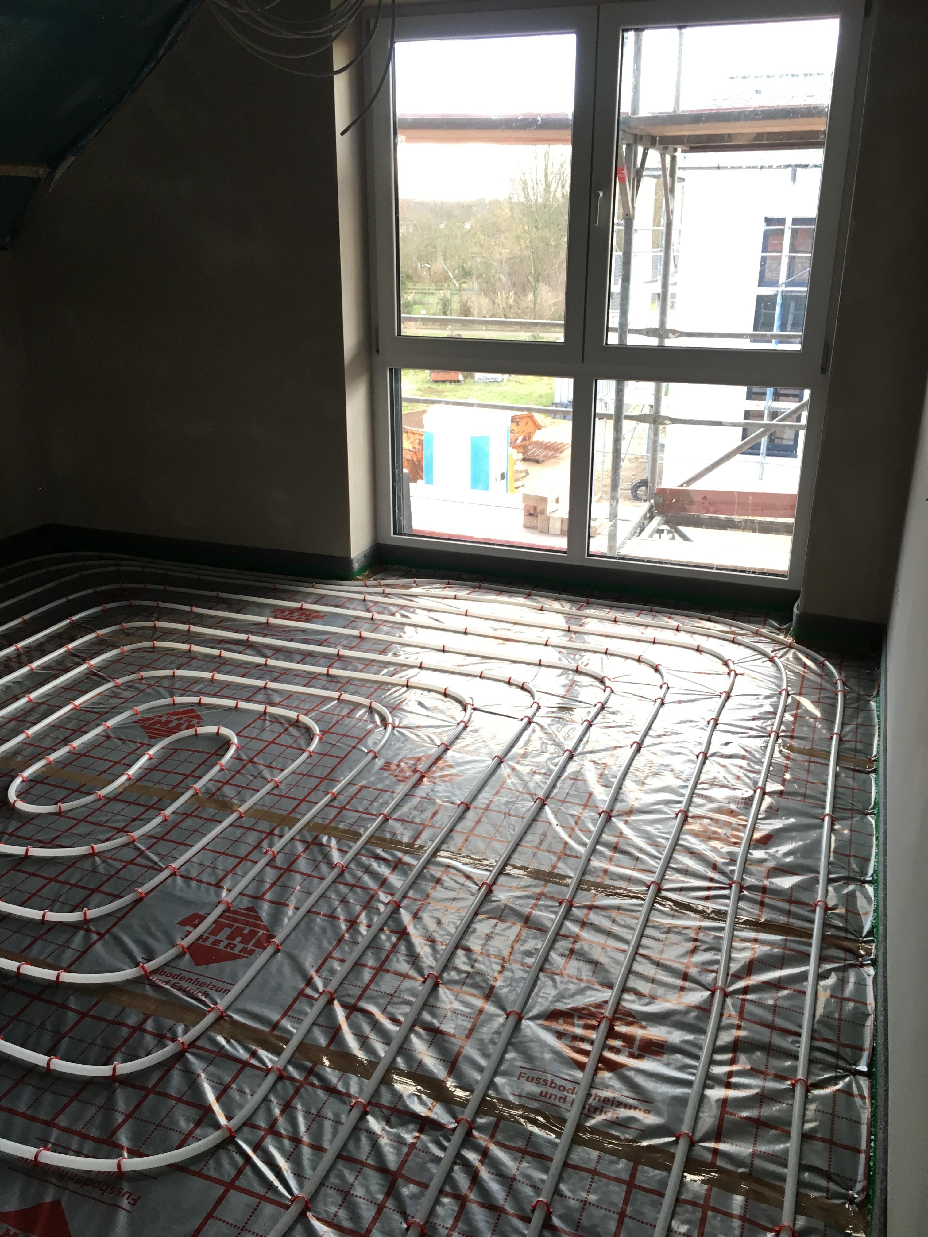 Fußbodenaufbau Und Fußbodenheizung | Unser Passivhaus In Burgdorf