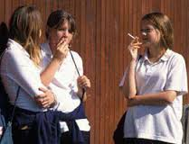 Smoking after school hours