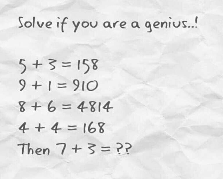 Brain Teaser: Solve This If You're A Genius
