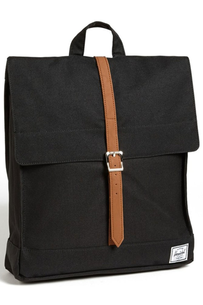 A square Herschel backpack
