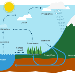 Frontal Rainfall Diagram Ford Ranger Wiring Stereo Water Cycle: The Process That Provides All You Use | Passnownow.com
