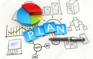 40750420-Finance-and-management-planning-as-a-concept-Stock-Photo-plan