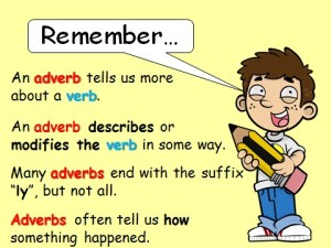 SS2 English Language: Adverbs