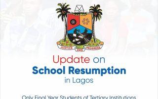 update on school resumption lagos state