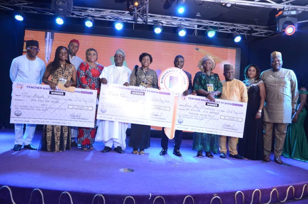Winners at the Season 2 of the Teachers Naija Reality TV Show 2021