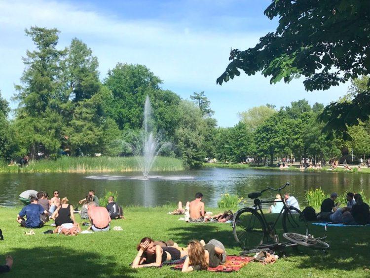 Vondelpark Park - Amsterdam
