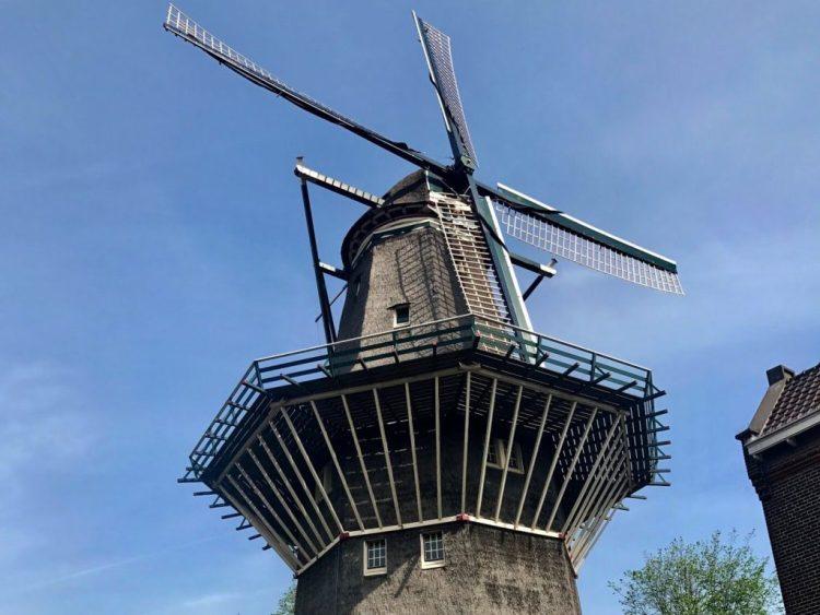 Gooyer Windmill in Amsterdam