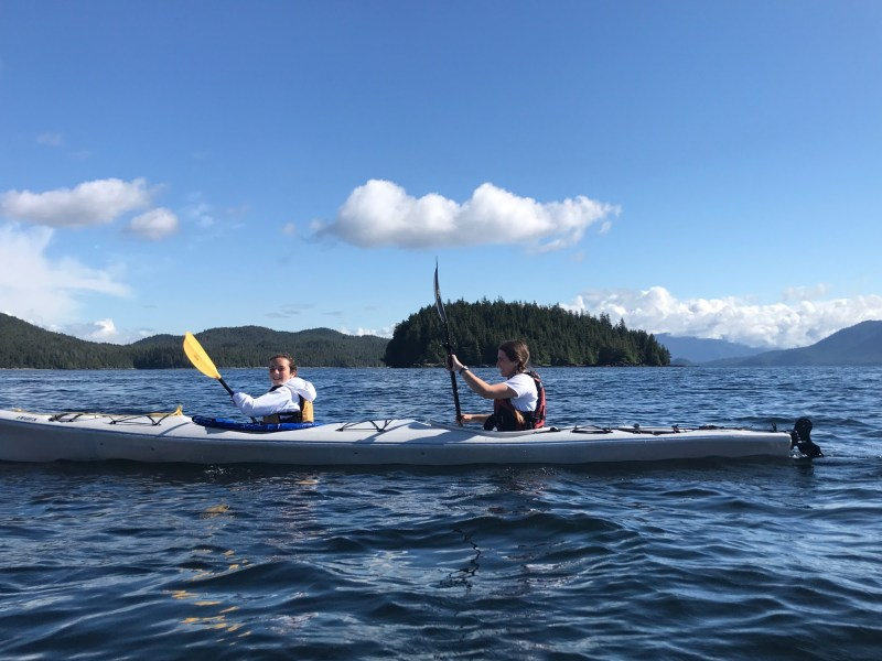 Kayaking in Eagle Island