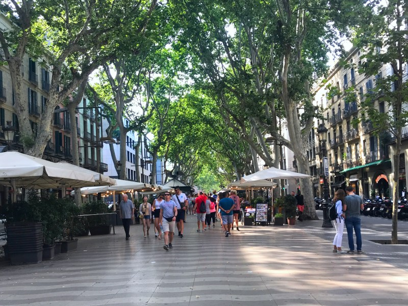 Three days in Barcelona: Las Ramblas