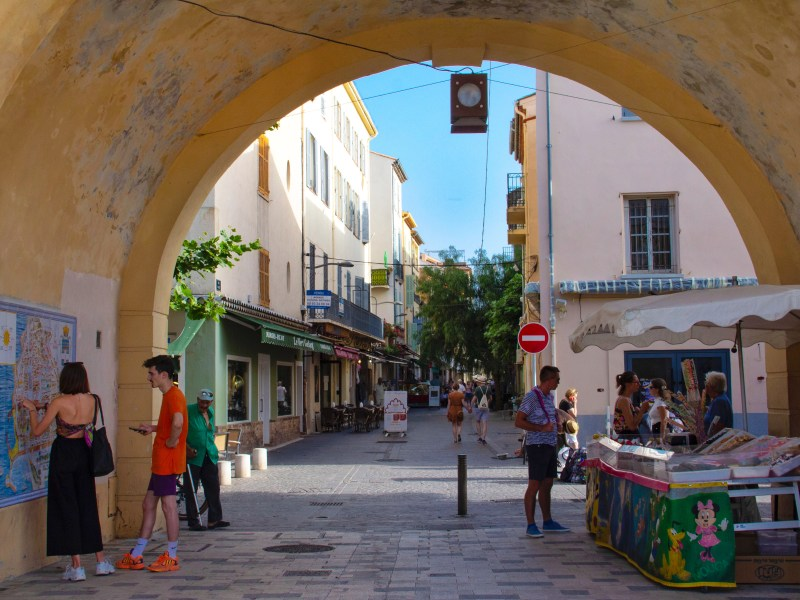 Beautiful towns in the South of France: Antibes