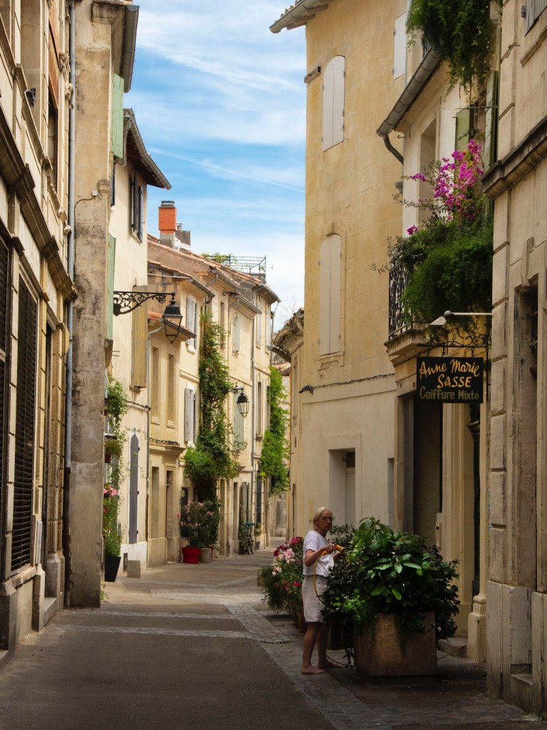 Beautiful towns in the South of France: Arles