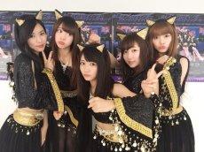 Backstage ; photo: https://twitter.com/karin_ogino