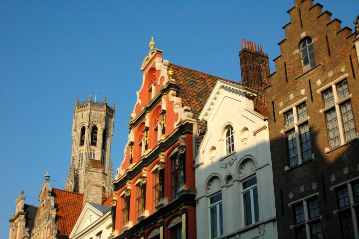 Beautiful Buildings in Bruges - A Travel Guide to Bruges, Belgium