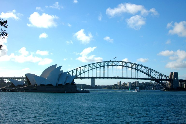 17 Easy Ways to Save Money on Travel - Sydney Harbour Bridge and Opera House
