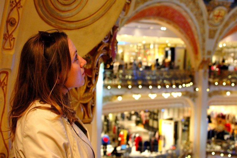 16 Cool Things to Do in Paris - Galeries Lafayette, Paris
