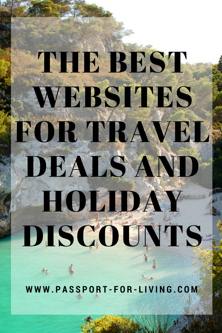 The Best Websites for Travel Deals and Holiday Discounts _ Travel _ Budget Travel _ Cheap Travel _ Save Money