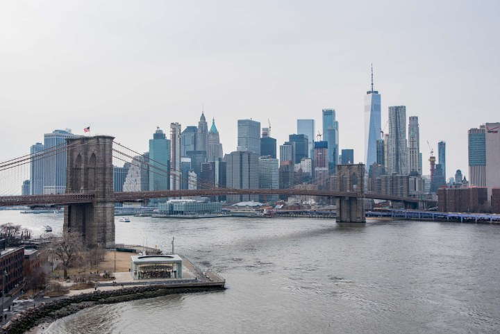 43 Epic Photos of New York City to Inspire You - Brooklyn Bridge and Downtown Manhattan