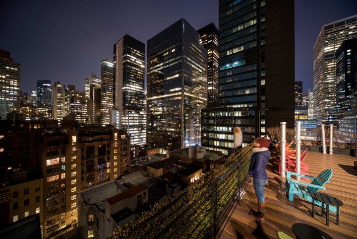 7 Fantastic Places to Eat in New York City - Pod 51 Rooftop Terrace