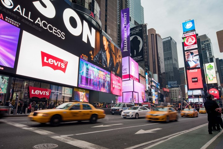 7 Fantastic Places to Eat in New York City - Times Square Yellow Cabs