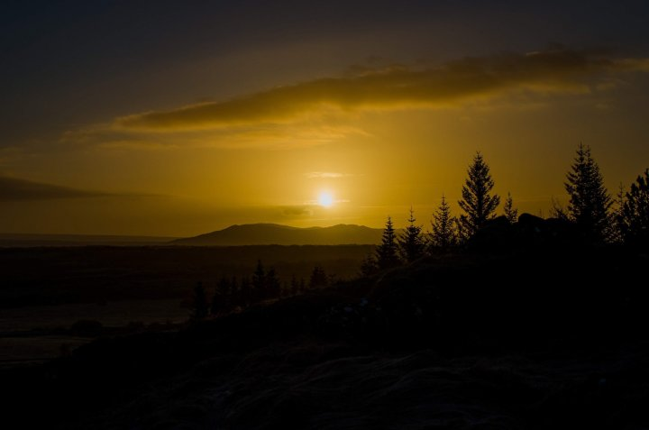 Thingvellir National Park Sunrise - 10 Awesome Things to do in South Iceland