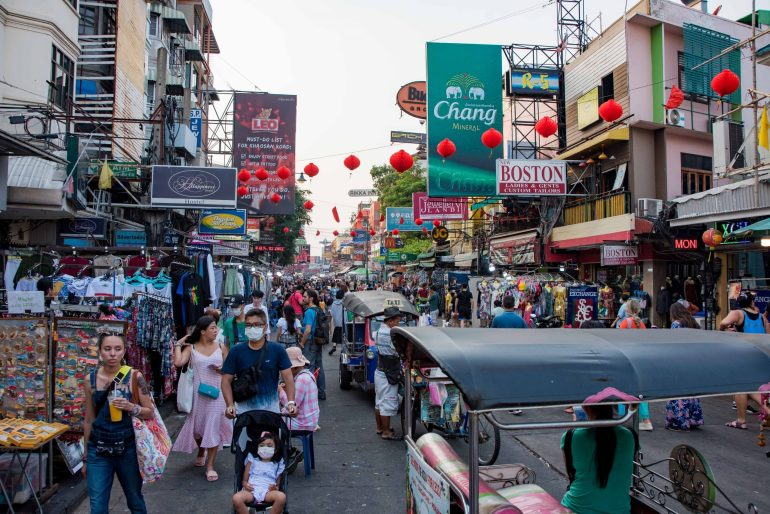 Khao San Road, Bangkok - How to Spend 36 Hours in Thailand