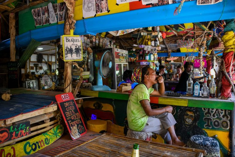 Railay West Reggae Bars - Visiting Railay Beach