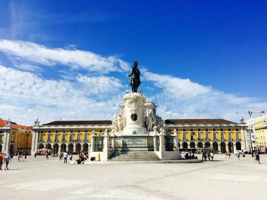Praça do Comercio plaza