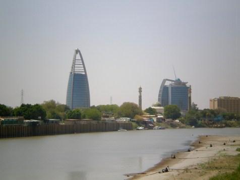 Urban development across the river