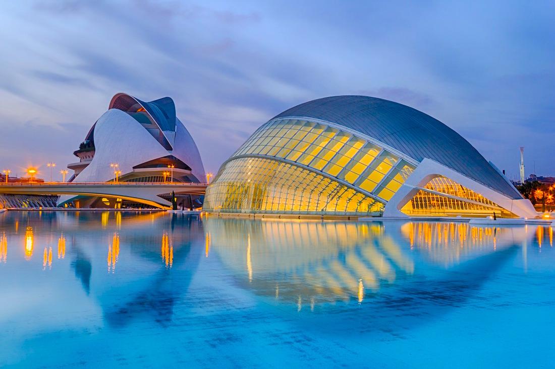 Valencia Itinerary: ciutat d' artes y ciencias