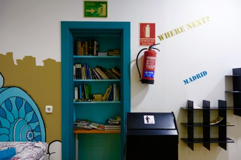 Visiting Madrid, Spain and looking for budget friendly accommodation? Stay at Mad Hostel Madrid for a social experience on a budget! | http://passportandplates.com