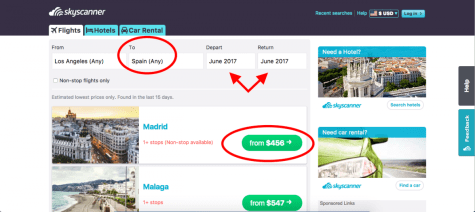 Check out these hidden tricks to help you find the cheapest flights, no matter what the destination! | http://passportandplates.com