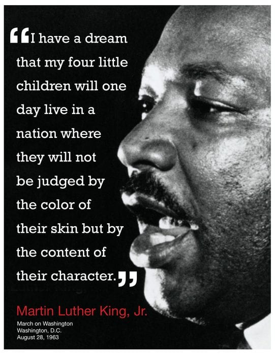 I Have A Dream Speech Quotes And Meanings - Quotes of Live