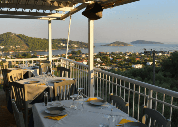 View of Skiathos Town from Adnadio