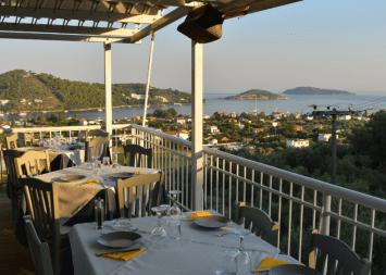 View of Skiathos Town from Adnadio