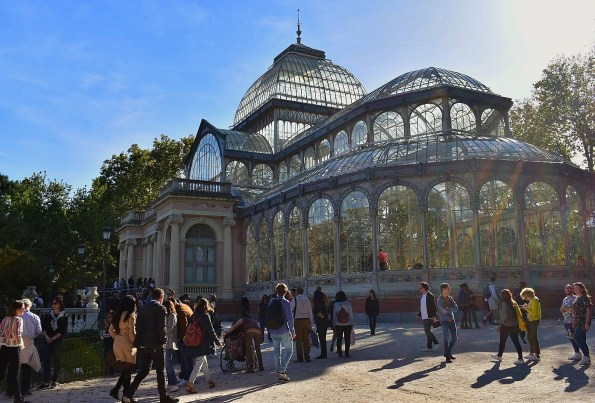 Photo of Palacio de Cristal in Retiro Park