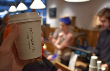 Monmouth Coffee cup