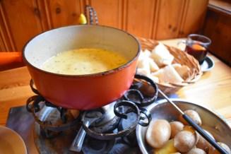Cheese fondue, Zermatt