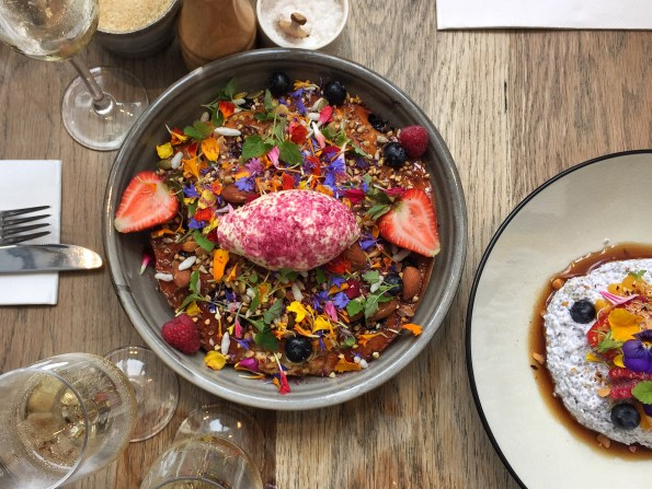 Blueberry and Ricotta Hotcake, The Kettle Black, Melbourne brunch