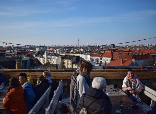 View of Berlin from Klunkerkranich